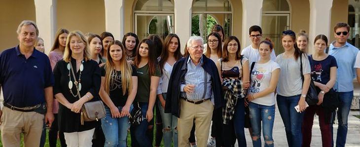 Predavanje o arhitekturi, akademik i arhitekt Dinko Kovačić