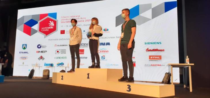 WORLD SKILLS CROATIA – drugo mjesto na Državnom natjecanju